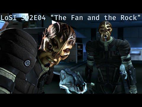 """LoSI Season 02 Episode 04 """"The Fan And The Rock""""; Shepard learns that Terra Nova is in grave danger"""