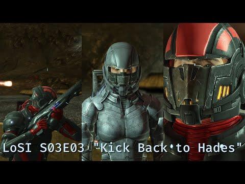 "LoSI Season 03 Episode 03 ""Kick Back to Hades""; Shepard deals with Cerberus, avenging Kahokus death."