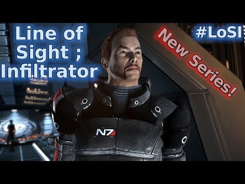 Mass Effect Line of Sight: Infiltrator ; Trailer